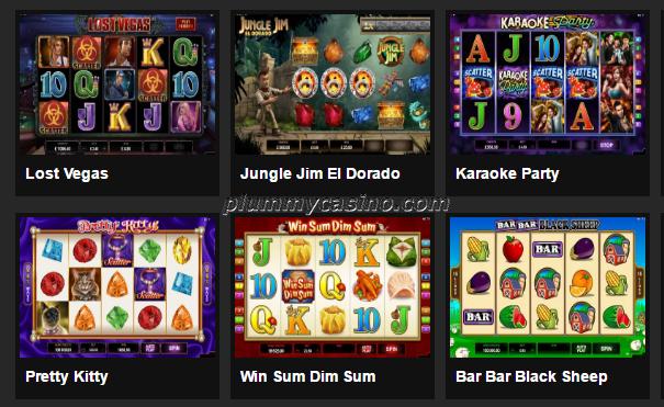 Microgaming slots at a real money casino