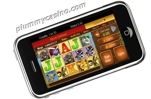 iPhone real money casino